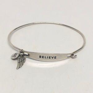 NEW💥CHAMILIA .925 Sterling Silver Bangle Bracelet